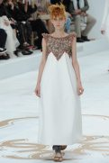 Nika Cole - Chanel Fall 2014 Couture