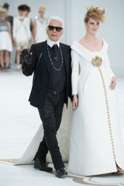 Karl Lagerfeld - Chanel Fall 2014 Couture