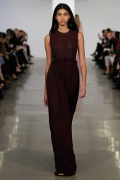 Imaan Hammam - Calvin Klein Collection Pre-Fall 2014