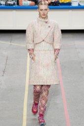 Julia Nobis - Chanel Fall 2014