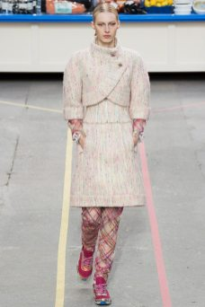 Julia Nobis - Chanel Fall 2014