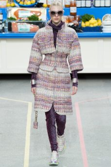 Juliana Schurig - Chanel Fall 2014
