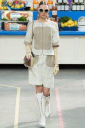 Kid Plotnikova - Chanel Fall 2014