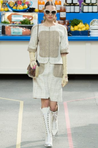 Kid Plotnikova - Chanel Fall 2014