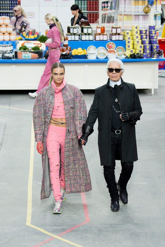 Karl Lagerfeld - Chanel Fall 2014