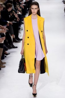 Anita Zaporotskova - Christian Dior Fall 2014