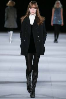Vlada Lachimova - Saint Laurent Fall 2014