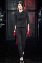 Katlin Aas - Armani Privé Fall 2014 Couture