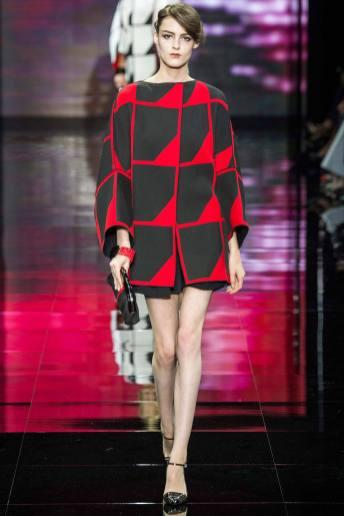 Kremi Otashliyska - Armani Privé Fall 2014 Couture