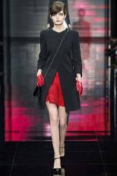 Zlata Mangafic - Armani Privé Fall 2014 Couture