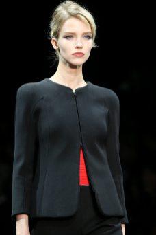 Sasha Luss - Armani Privé Fall 2014 Couture