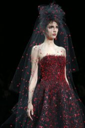 Brenda Kranz - Armani Privé Fall 2014 Couture
