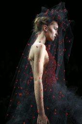 Irina Liss - Armani Privé Fall 2014 Couture