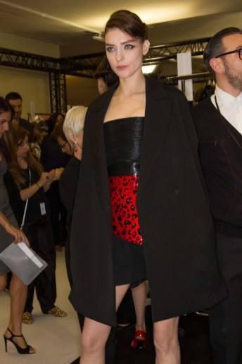 Kati Nescher - Armani Privé Fall 2014 Couture