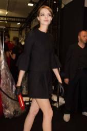 Mine Cvetkovic - Armani Privé Fall 2014 Couture