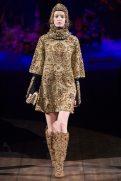 Hollie-May Saker - Dolce & Gabbana 2014 Sonbahar-Kış Koleksiyonu