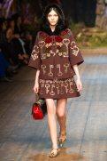 Kate Bogucharskaia - Dolce & Gabbana 2014 Sonbahar-Kış Koleksiyonu