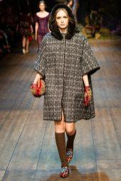 Nastya Yatchuk - Dolce & Gabbana 2014 Sonbahar-Kış Koleksiyonu