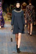 Auguste Abeliunaite - Dolce & Gabbana 2014 Sonbahar-Kış Koleksiyonu