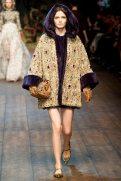 Zlata Mangafic - Dolce & Gabbana 2014 Sonbahar-Kış Koleksiyonu