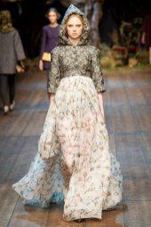 Holly Rose Emery - Dolce & Gabbana 2014 Sonbahar-Kış Koleksiyonu