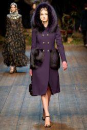 Sigrid Agren - Dolce & Gabbana 2014 Sonbahar-Kış Koleksiyonu