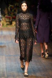 Jacquelyn Jablonski - Dolce & Gabbana 2014 Sonbahar-Kış Koleksiyonu
