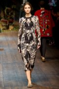 Anastasija Titko - Dolce & Gabbana 2014 Sonbahar-Kış Koleksiyonu
