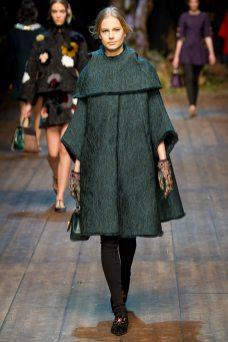 Elisabeth Erm - Dolce & Gabbana 2014 Sonbahar-Kış Koleksiyonu