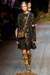 Kate Grigoreva - Dolce & Gabbana 2014 Sonbahar-Kış Koleksiyonu
