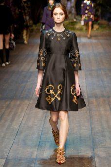 Sophie Touchet - Dolce & Gabbana 2014 Sonbahar-Kış Koleksiyonu