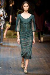 Vasilisa Pavlova - Dolce & Gabbana 2014 Sonbahar-Kış Koleksiyonu