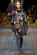 Maartje Verhoef - Dolce & Gabbana 2014 Sonbahar-Kış Koleksiyonu
