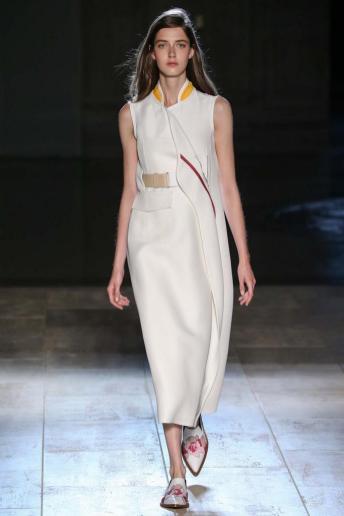 Josephine van Delden - Victoria Beckham Spring 2015