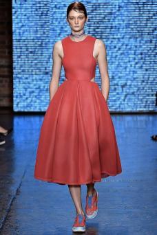Sophie Touchet - DKNY Spring 2015