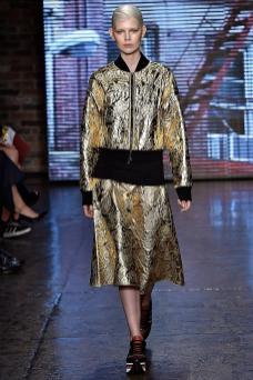 Ola Rudnicka - DKNY Spring 2015