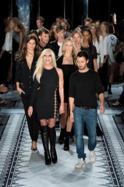 Donatella Versace - Anthony Vaccarello - Versus Versace Spring 2015