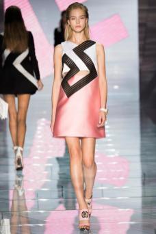Sasha Luss - Versace Spring 2015