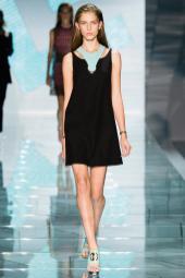 Sabina Lobova - Versace Spring 2015