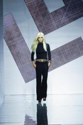 Donatella Versace - Versace Spring 2015