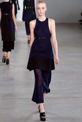 Sabine Cozijnsen - Calvin Klein Collection Spring 2015