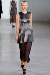 Maartje Verhoef - Calvin Klein Collection Spring 2015