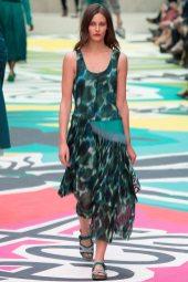 Charlotte Wiggins - Burberry Prorsum Spring 2015