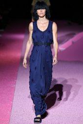 Hilary Rhoda - Marc Jacobs Spring 2015