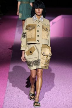Jessica Hart - Marc Jacobs Spring 2015