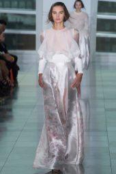 Olivia David - Antonio Berardi Spring 2015