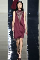 Jing Wen - Christopher Kane Spring 2015