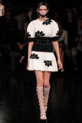 Paulina King - Alexander McQueen Spring 2015