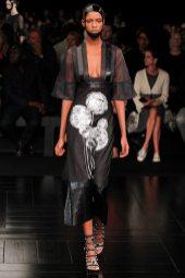 Leila Nda - Alexander McQueen Spring 2015