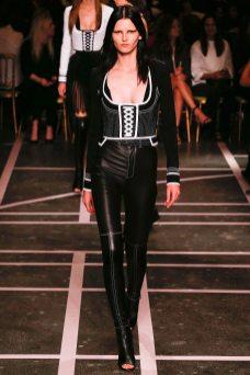 Katlin Aas - Givenchy Spring 2015